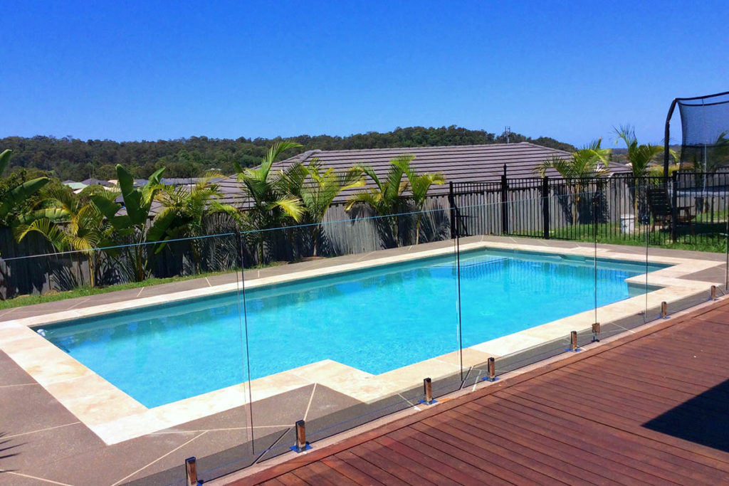 Simple affordable pool north brisbane