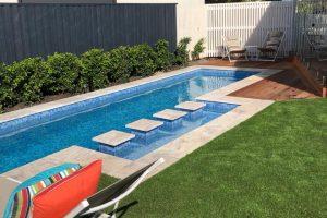 Tiled Lap Pool in Brisbane